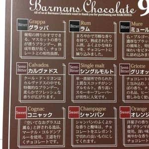 マンズ チョコレート バー