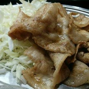 豚バラダブル定食