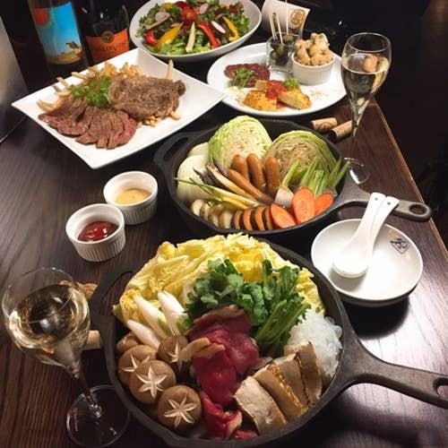 炭焼熟成肉×オーガニックワイン×産直野菜 FORST 新宿3丁目店