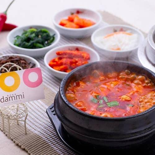韓流美食 korean cafe dining dammi
