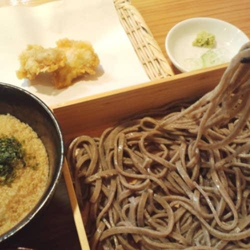粗挽き蕎麦 トキ