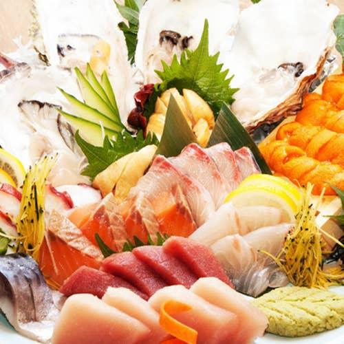 日本一の宮城の魚が喰える店三陸天海のろばた