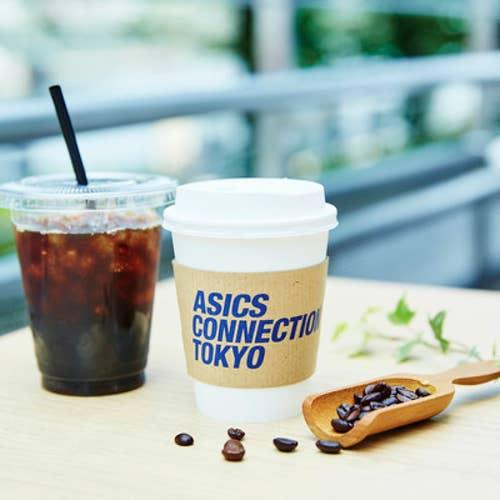 ASICS CONNECTION TOKYO カフェラウンジ
