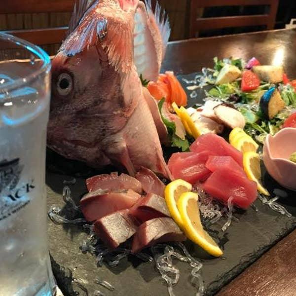 大阪天満橋の海鮮料理 若鰤