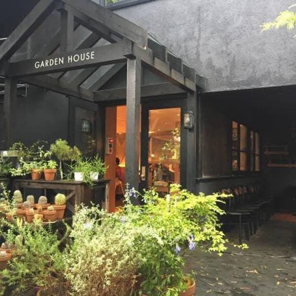 ガーデンハウス レストラン「ガトーショコラu0026バニラアイスクリーム。モロッカンミ...」:鎌倉