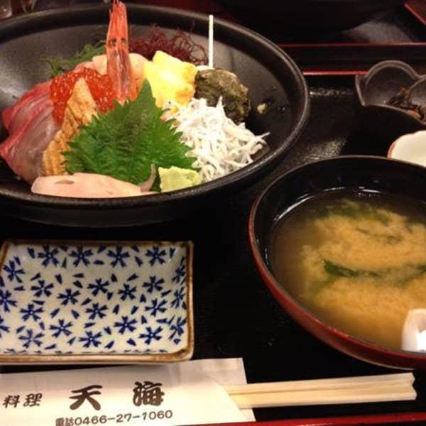 江の島 ハルミ食堂>