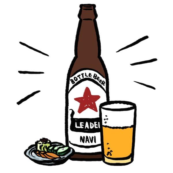 瓶ビール班長