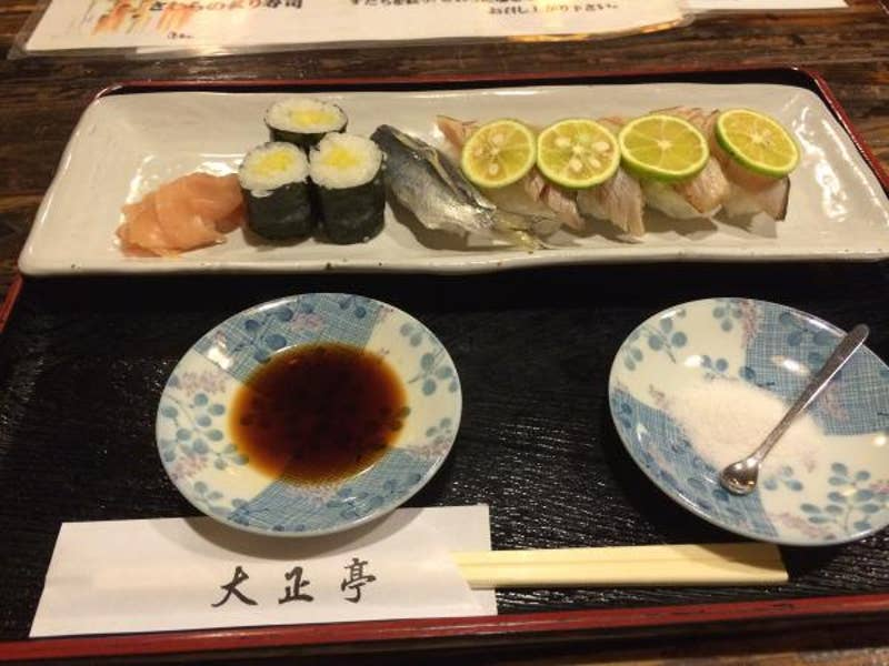 瀬戸内海の魚中心の懐石料理