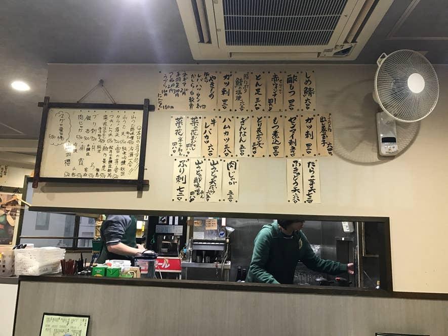 大衆居酒屋らしい店内。/D.takahashiさんの投稿より