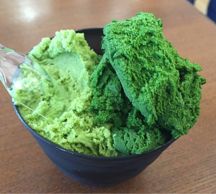 抹茶スイーツ好きにはおなじみの、『世界一濃い抹茶アイス』/Masato Imajoさんの投稿より