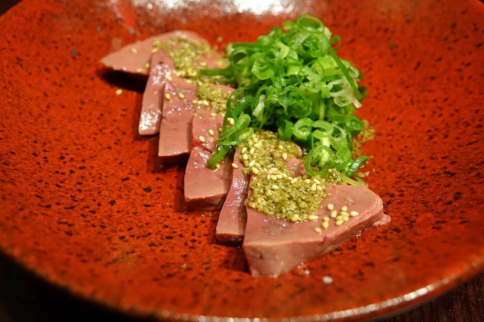 『和牛レバ刺し』は680 円。この居酒屋に来たら、外せません。/Yuki Muragishiさんの投稿より