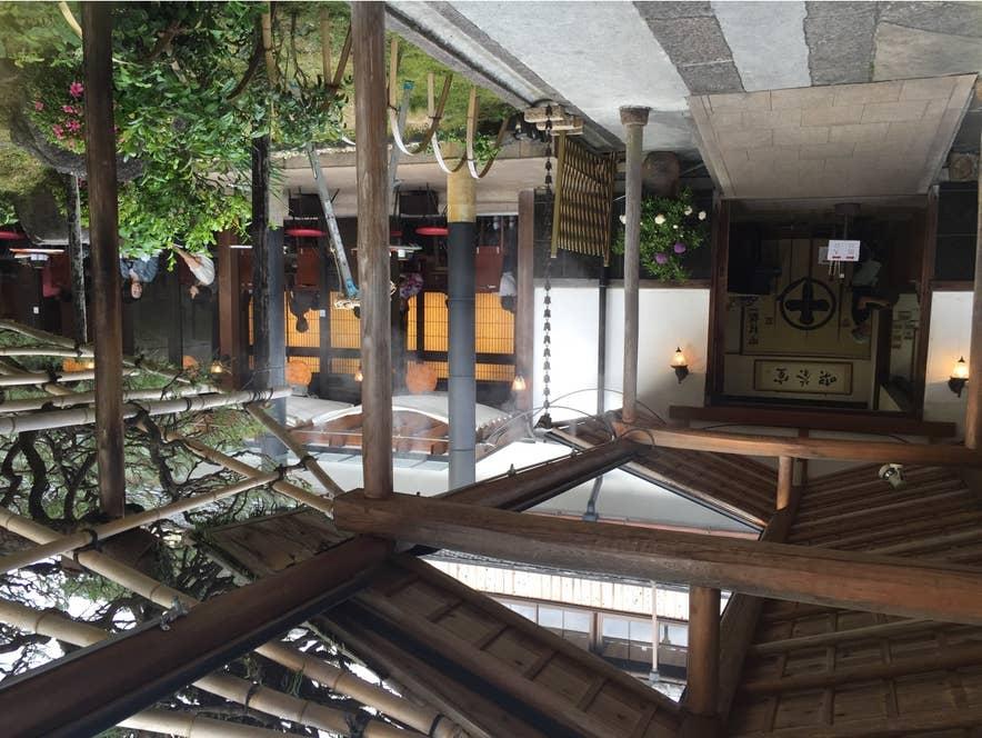 京都の名店らしい、落ち着いた佇まいの抹茶スイーツ店です。/Aya Isumiさんの投稿より