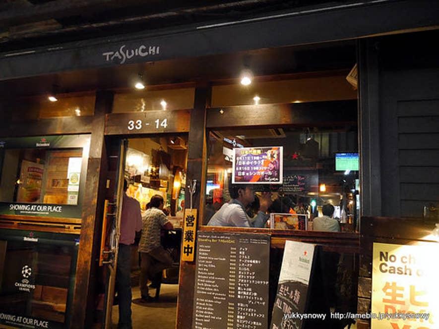 おしゃれな店構え。居酒屋というより、バーに近いかも。/Yuki Muragishiさんの投稿より