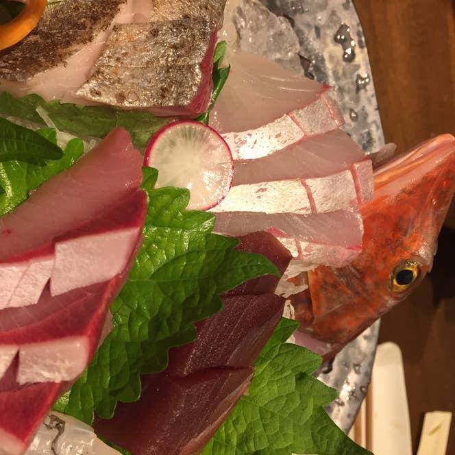 こちらの居酒屋に来たら刺身は注文しておきたいですね。/Akihiro Kajitaniさんの投稿より