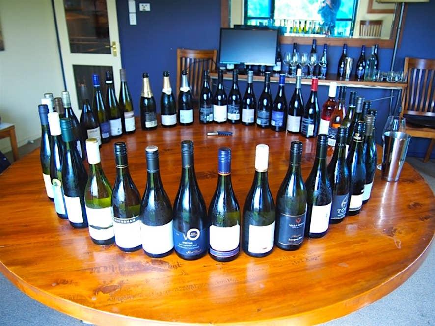 今年授賞したニュージーランドワイン杯の研修旅行で訪れたニュージーランド マールボローのワイナリー「リージョナル」のテイスティングハウス。