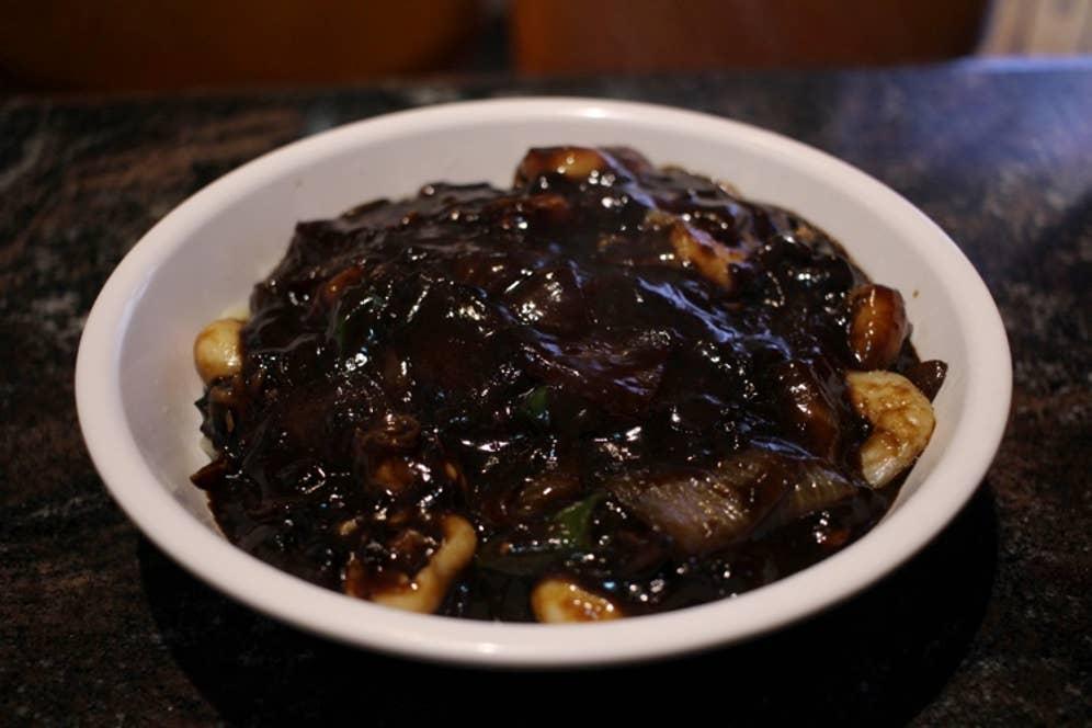 ▲メウンジャジャン(辛口ジャジャン麺) 1000円