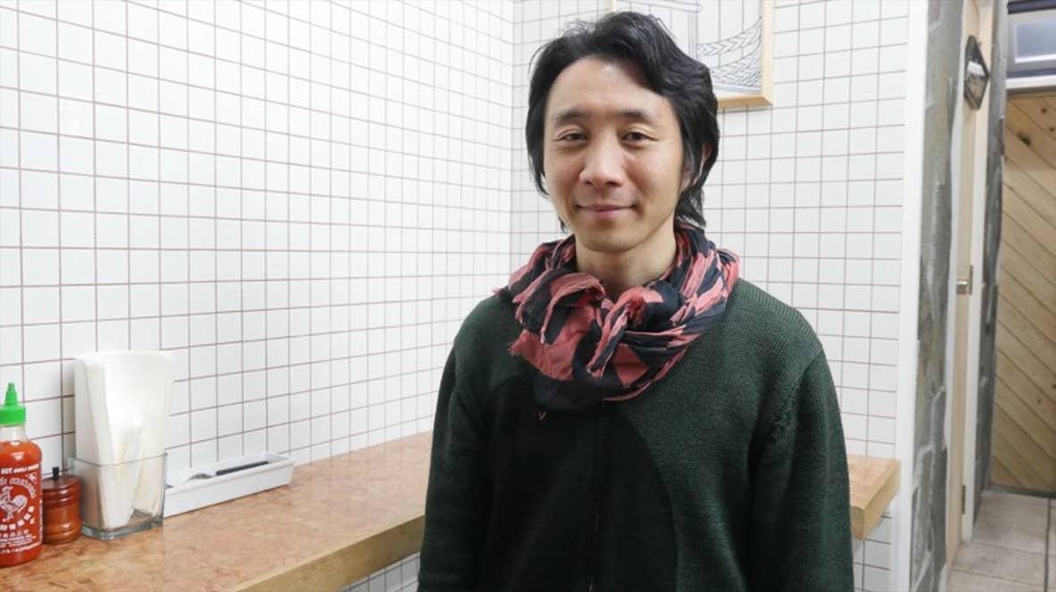▲Retty・TOP USERハンバーガー担当のShingo Inoueさん