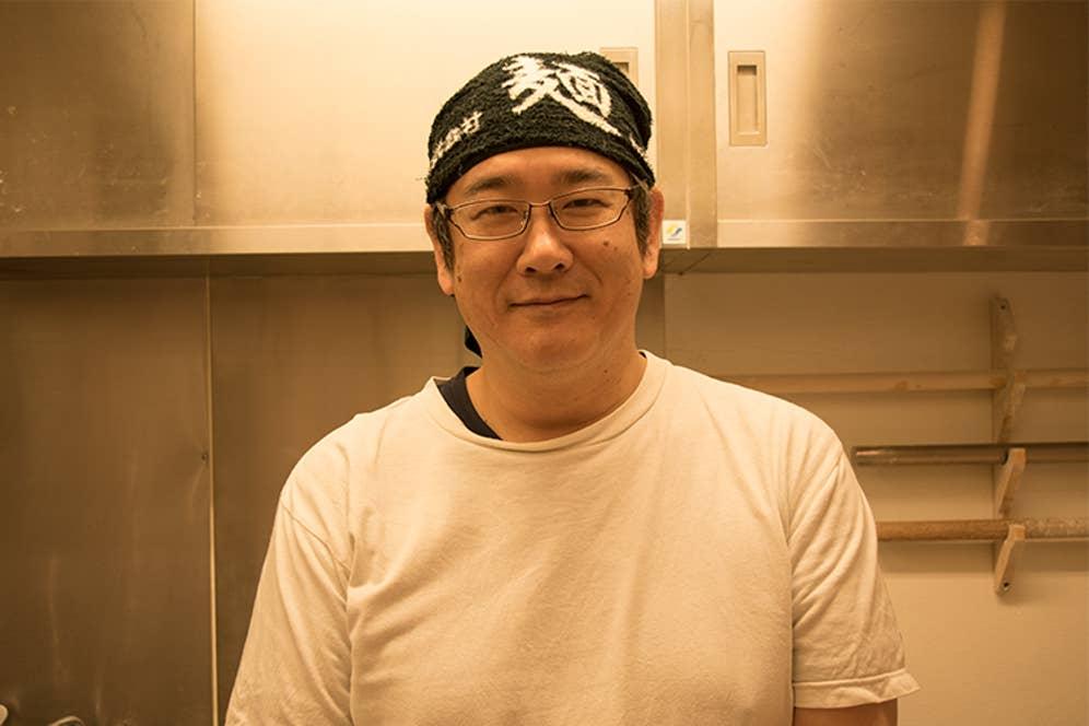 「麺や 七彩」店主・藤井吉彦さん