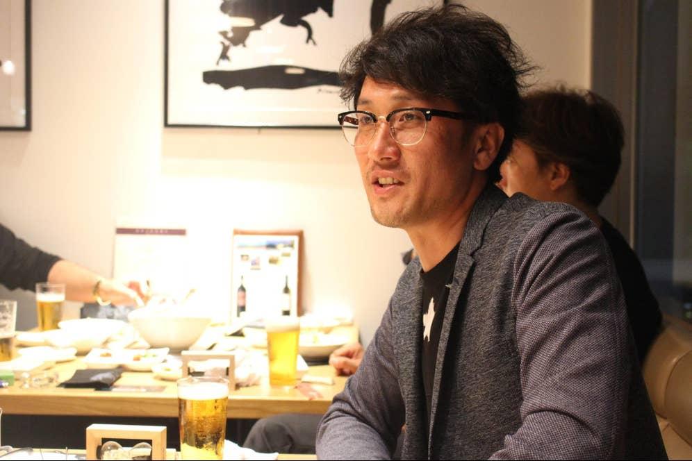 ▲仙台牛レボリューションズの代表メンバー佐野和宏さん。若々しく見えますが、高校生の息子さんを持つ良きパパ