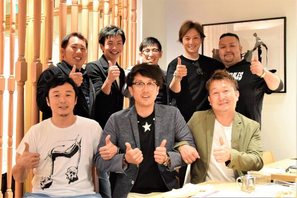 ▲上段左から千葉さん、菅生さん、菅野さん、川村さん、鈴木さん。下段左から川口さん、佐野さん、梅津さん