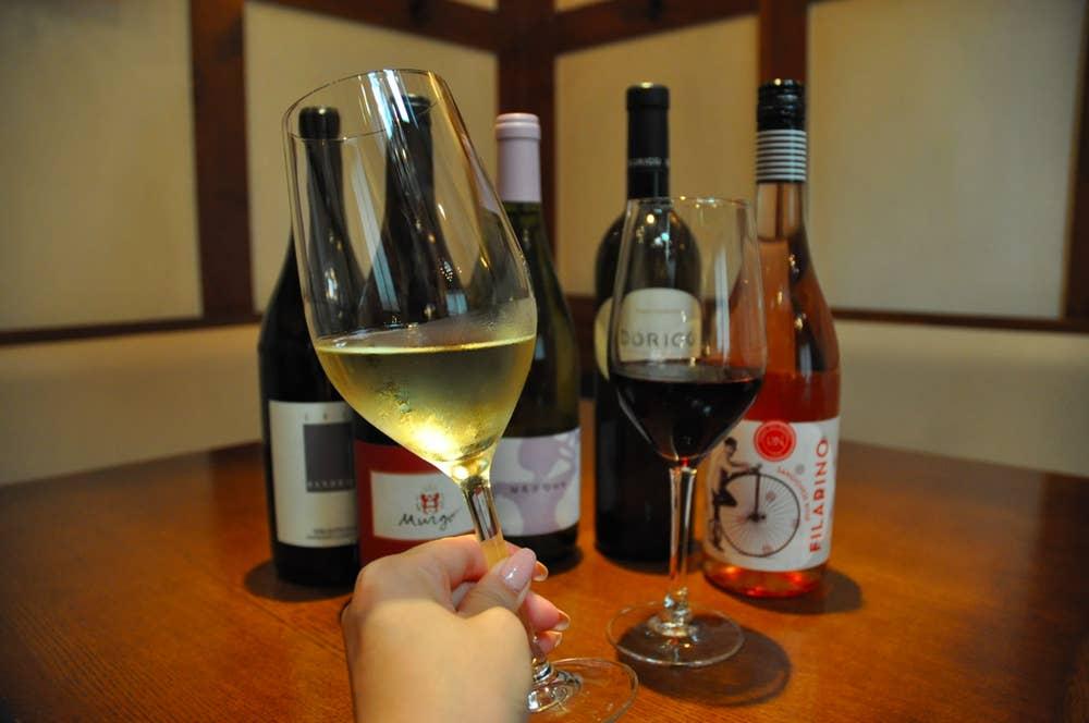 ▲グラスワイン 800〜1000円