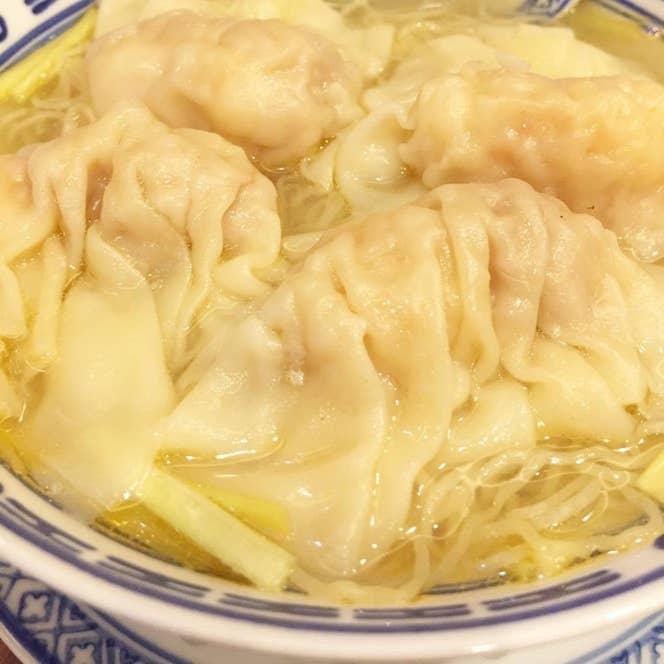 ▲香港海老雲呑麺