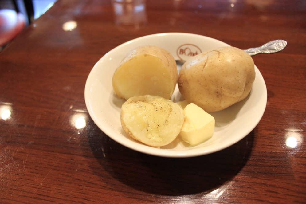 ▲塩コショーで食べると、バターの風味が強まってより一層おいしい