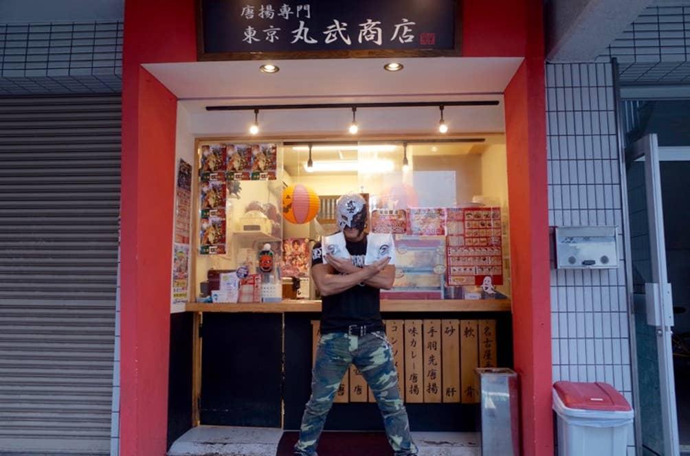▲新日本プロレスのBUSHIさん