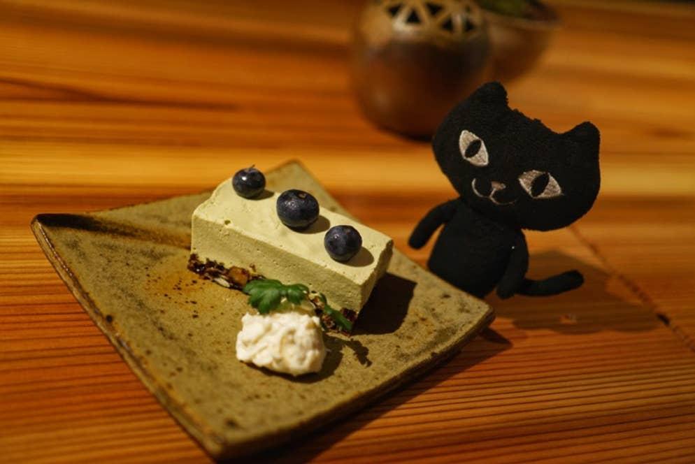 ▲抹茶ムースのグラノーラタルト 780円(税別)
