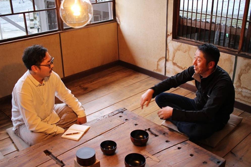 ▲仁井田本家の酒蔵に戻って、さらに話は続きます
