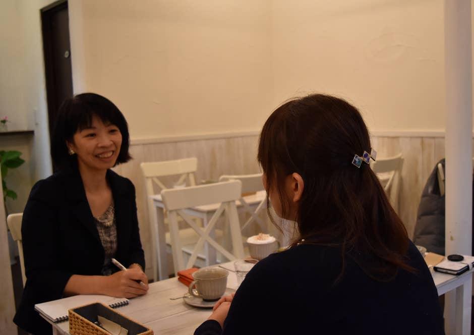 「base de carin」にて、私は和田さんに話を色々伺った