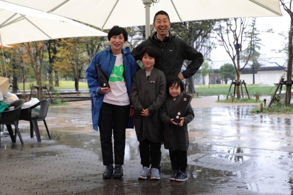 ▲仁井田さんのご家族