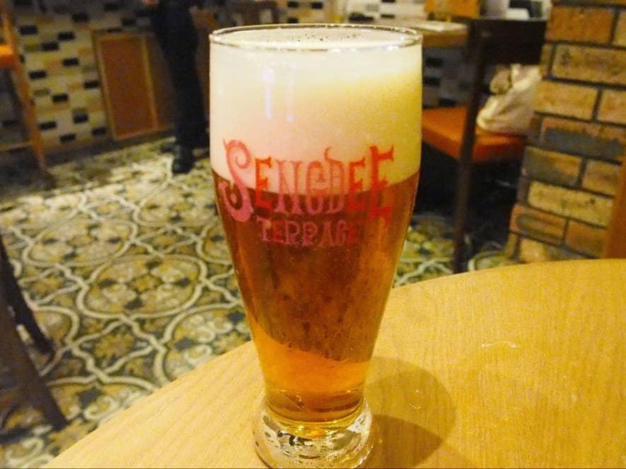 センディー生ビール 680円