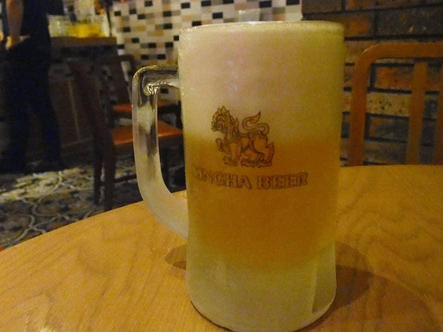 シンハ生ビール 680円