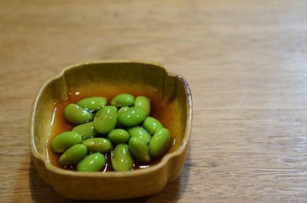 千葉県茶豆のおひたし