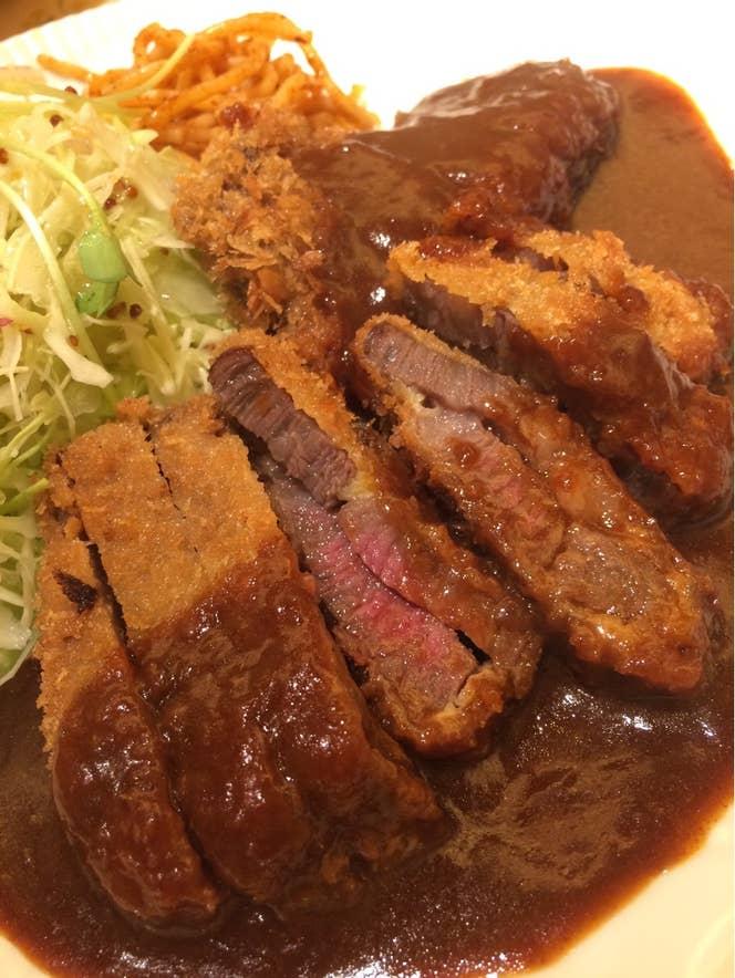 和牛ビフカツセット1620円 Keigo Tomomatsuさんの投稿より