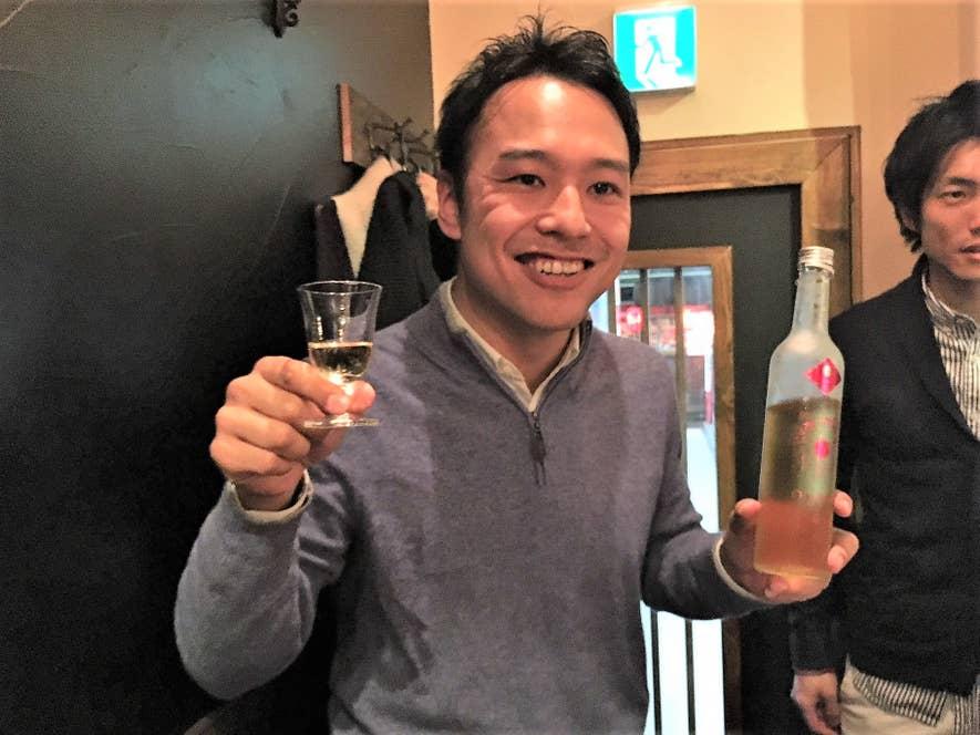 株式会社WAKAZE代表の稲川琢磨さん。三軒茶屋でのペアリングイベント(後述)にて。
