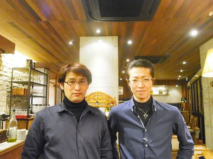 店長兼スーパーバイザーの原さんとスーパーバイザーの鎌田さん