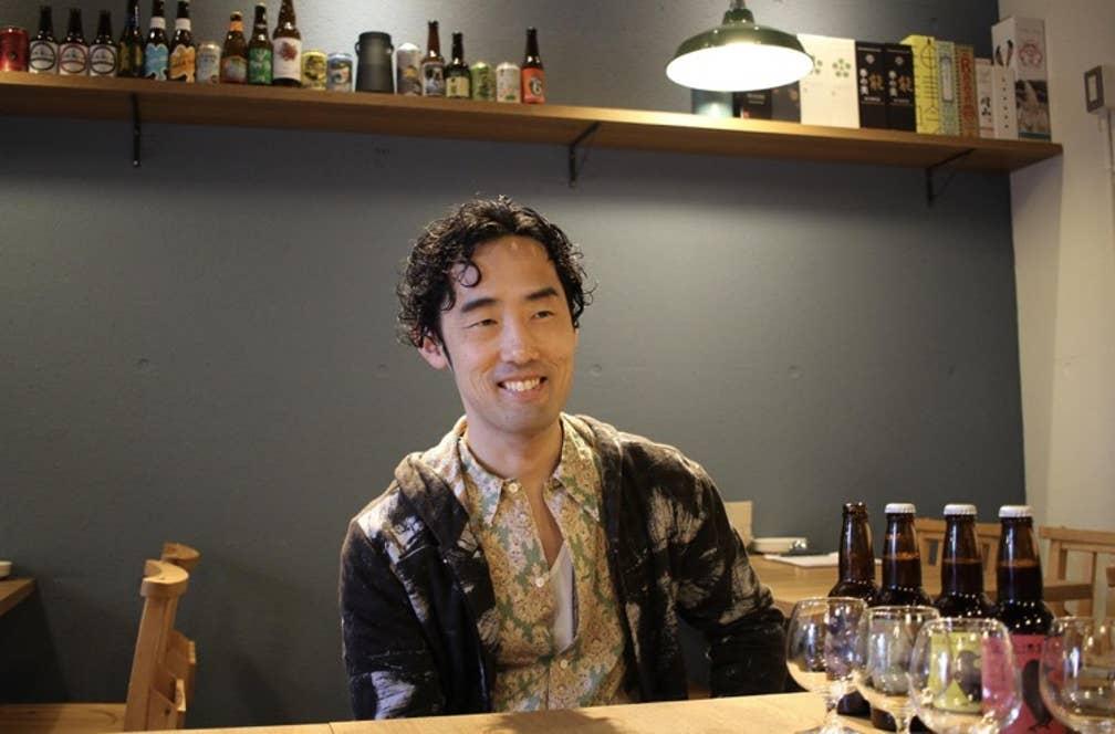 ▲風上麦酒製造の田上達史さん