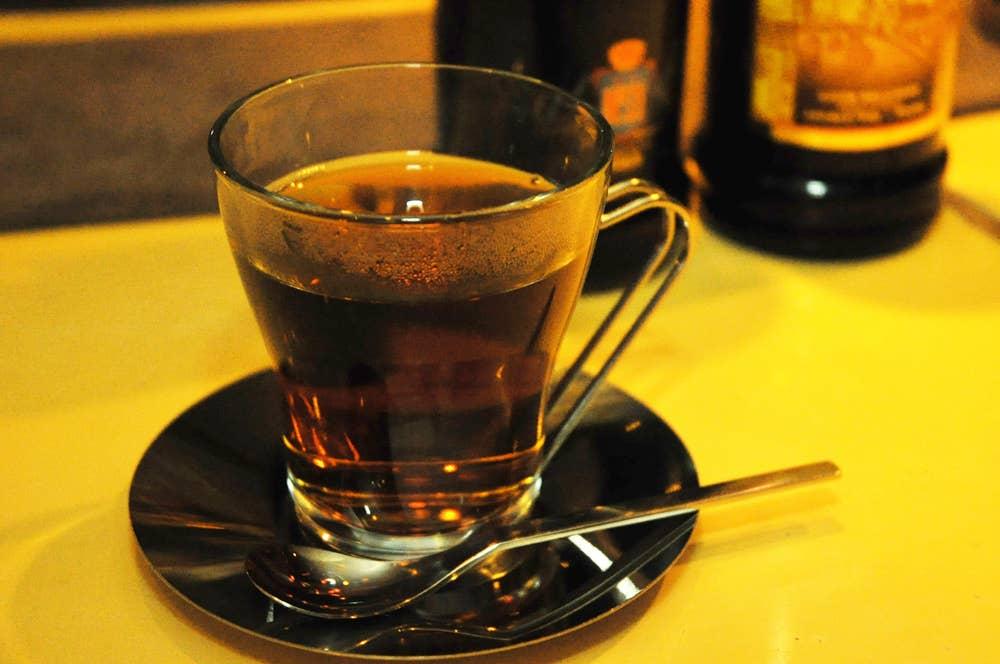 ▲コーヒーウォッカのホットカクテル 900円