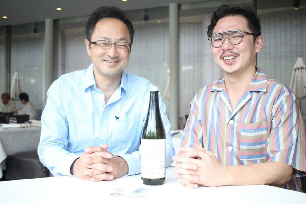 ▲上川大雪酒造代表の塚原敏夫さん(写真左)