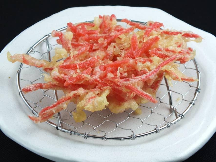 紅生姜の天ぷら (150円)