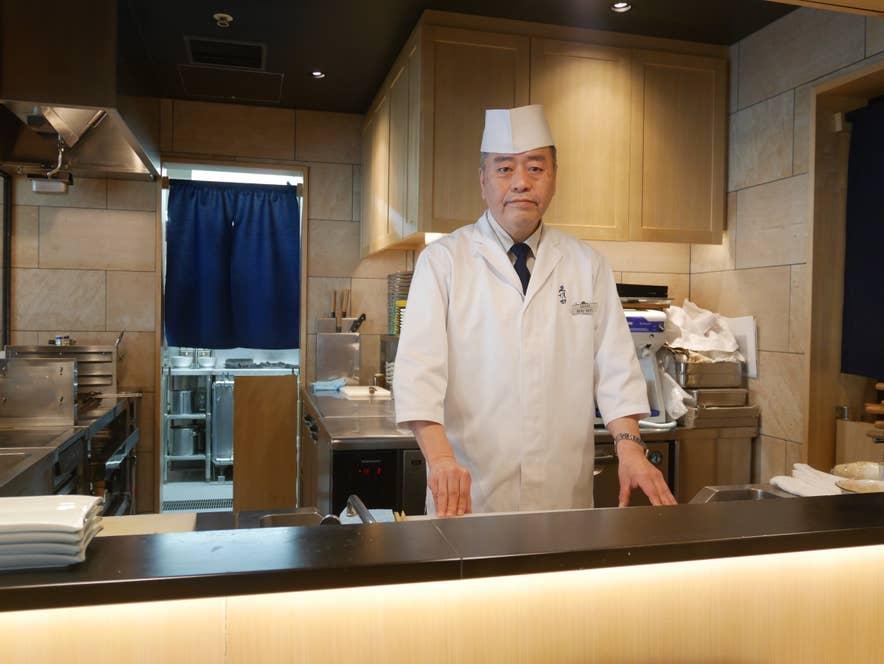 料理長の野村和広さん