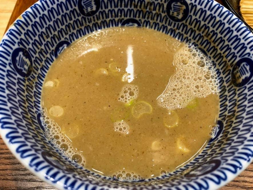 高級煮干スープでまた至高の味わいに