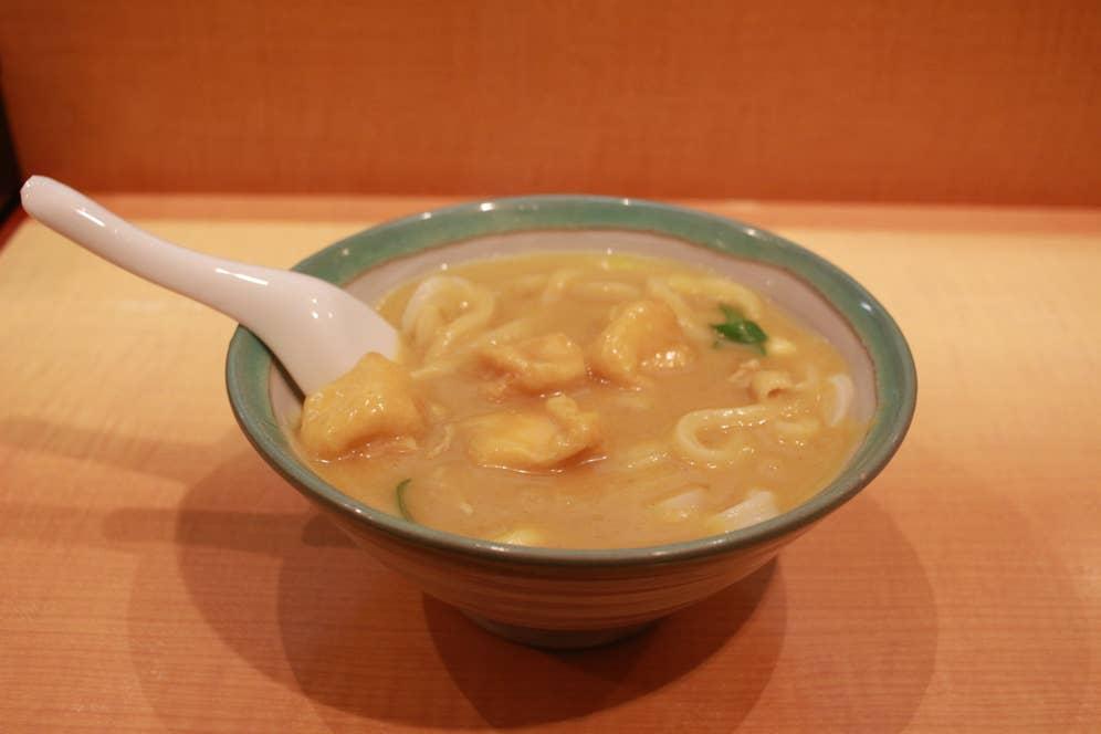 カレーうどん (700円)