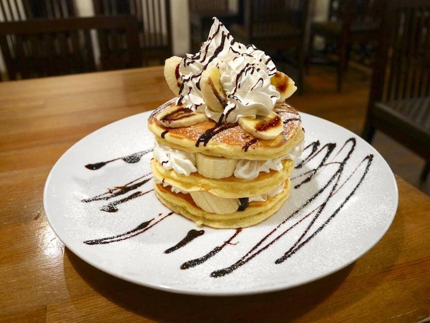 チョコバナナパンケーキ 800円(税込)