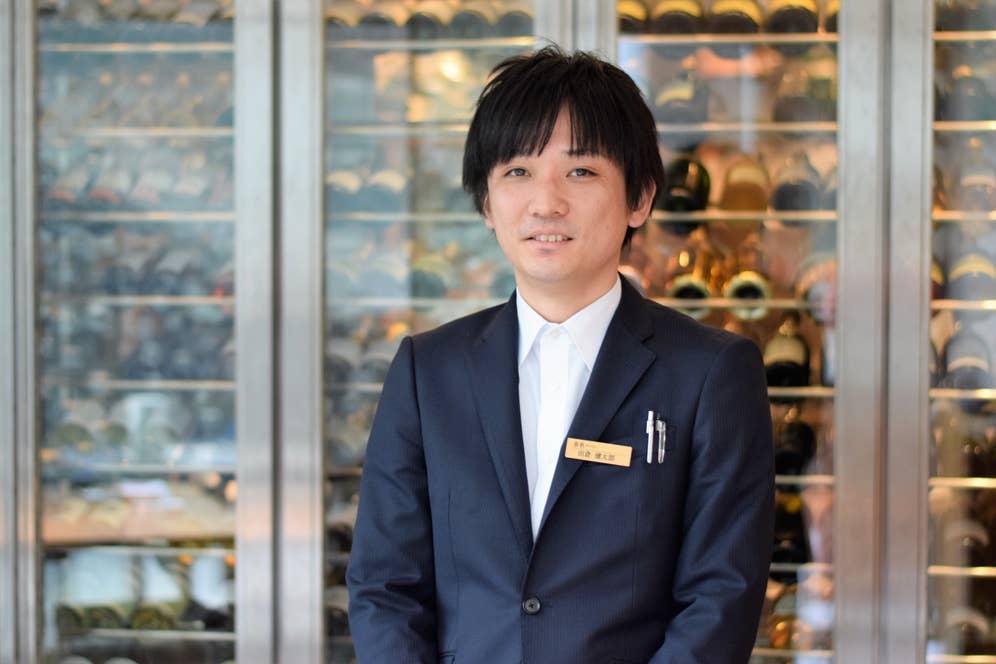 店長の田倉健太郎さん。