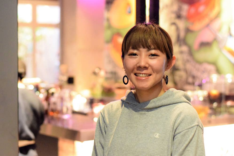 ゼネラルマネージャーの関谷リサさん。