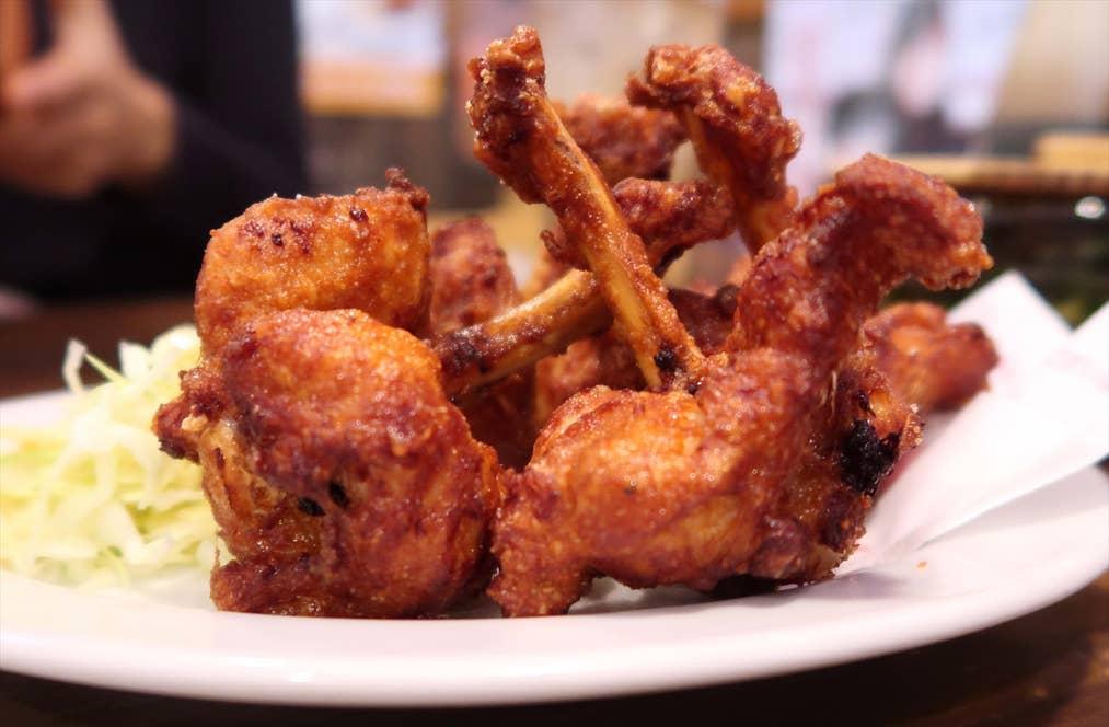 鶏のチューリップ唐揚げ