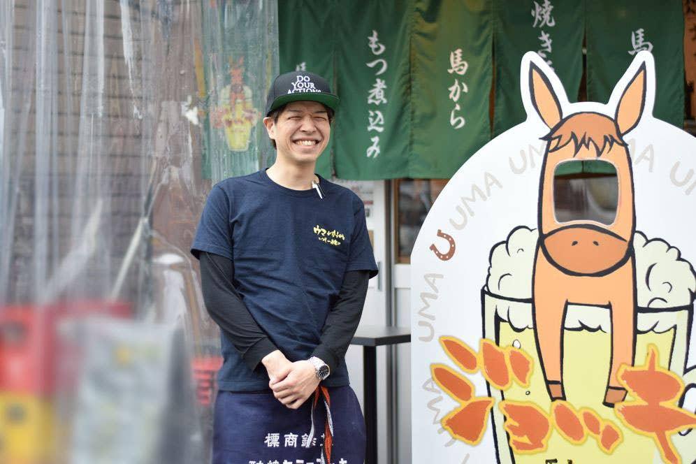 店長の野村さん。